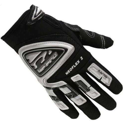 GP-Pro Neoflex 2 Black Motocross Gloves