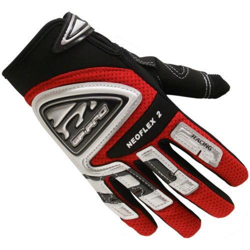 GP-Pro Neoflex 2 Red Motocross Gloves