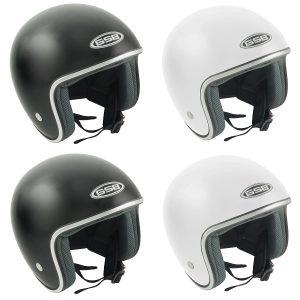 GSB G234 Fibreglass Open Face Motorcycle Helmet