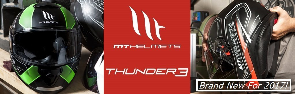MT Thunder 3 Motorcycle Helmets - Brand New 2017