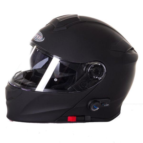 Viper RS-v171 Bluetooth Plain Helmet