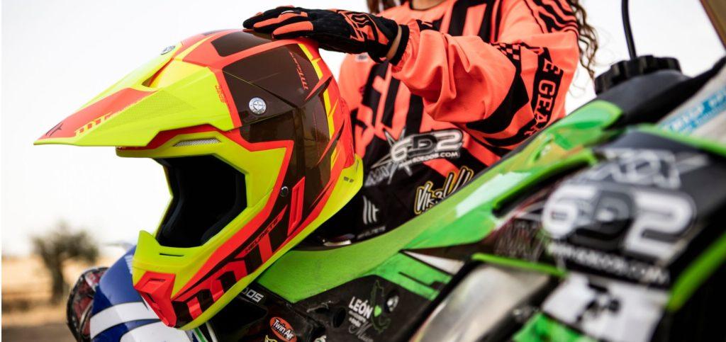 MT Motocross Helmet Web Banner