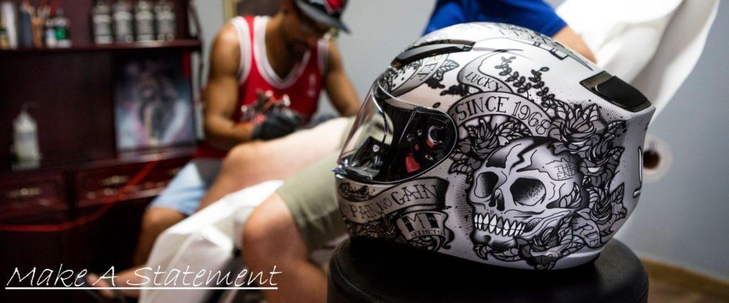 MT Revenge Motorcycle Helmet Web Banner