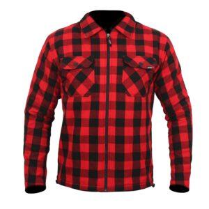 ARMR Moto Aramid Motorcycle Shirt Red 2