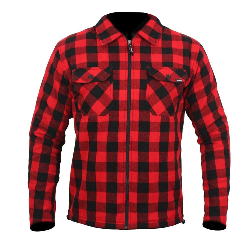 ARMR Moto Aramid Red Shirt
