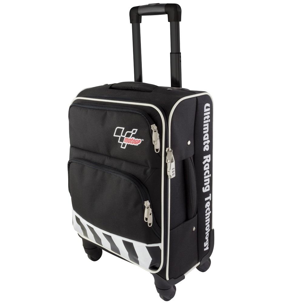 e0fba0251c50 Details about Official MotoGP Pro Series Flight Cabin Travel Bag Suitcase  Wheel Trolley Black