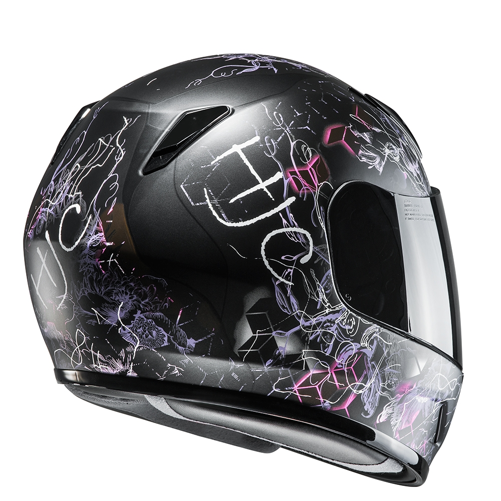 Hjc Cl Y Vela Helmet Blda Motorbikes