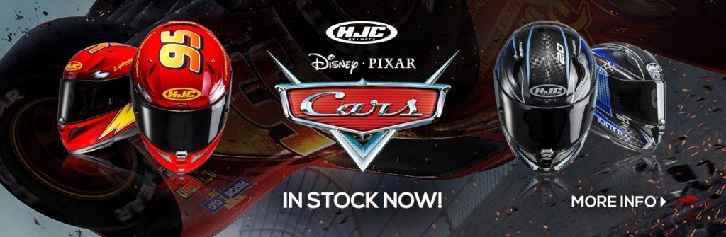 HJC Disney Cars Motorcycle Helmet Banner