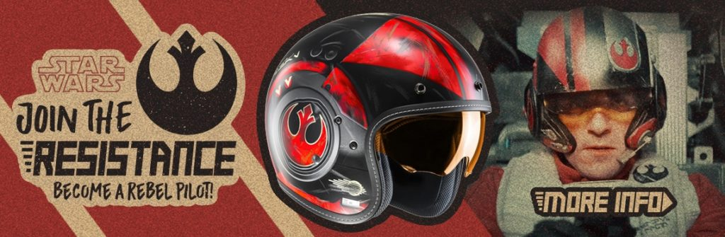 HJC Star Wars Motorcycle Helmet Banner