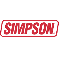 Simpson Venom Plain Full Face Motorcycle Helmet