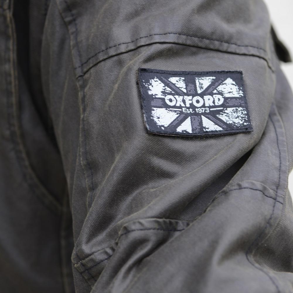 Oxford Hardy Wax Jacket Blda Motorbikes