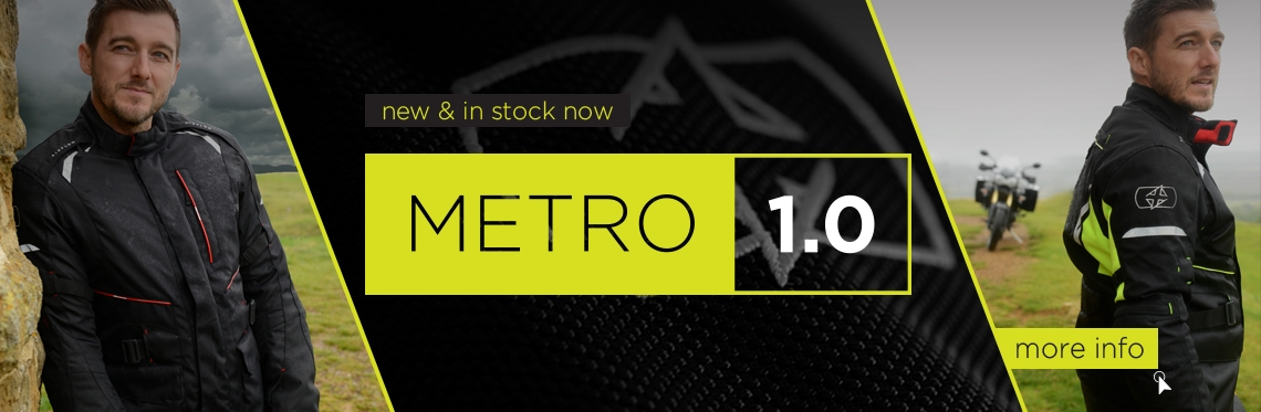 Oxford Metro Waterproof Motorcycle Jacket Web Banner