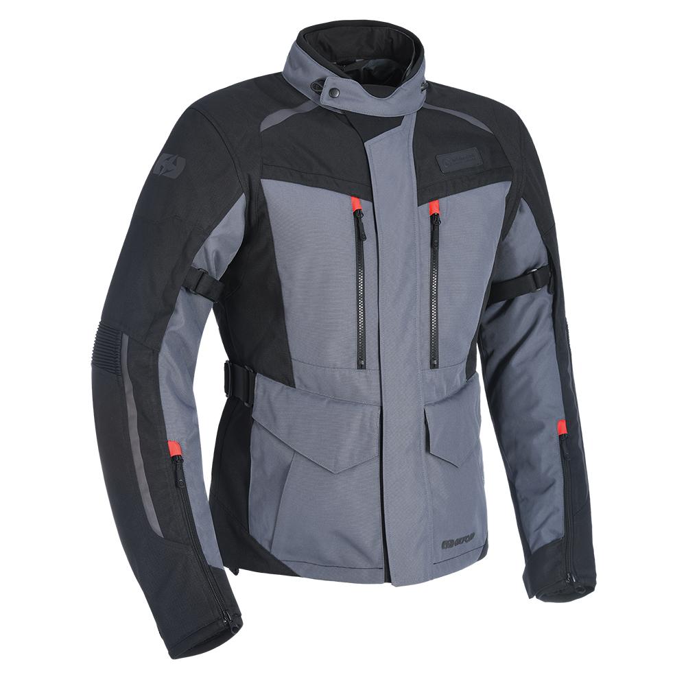 Oxford Continental Advanced Tech Grey Motorcycle Jacket