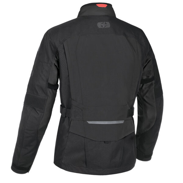 Oxford Continental Motorcycle Jacket Tech Black 2