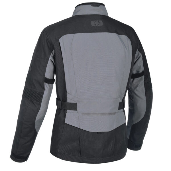 Oxford Continental Motorcycle Jacket Tech Grey 2