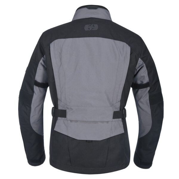 Oxford Continental Motorcycle Jacket Tech Grey 4