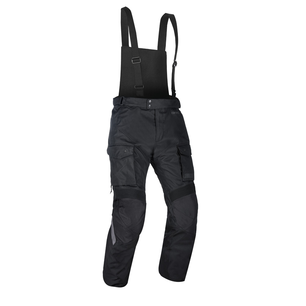 Oxford Continental Motorcycle Trousers Black 1