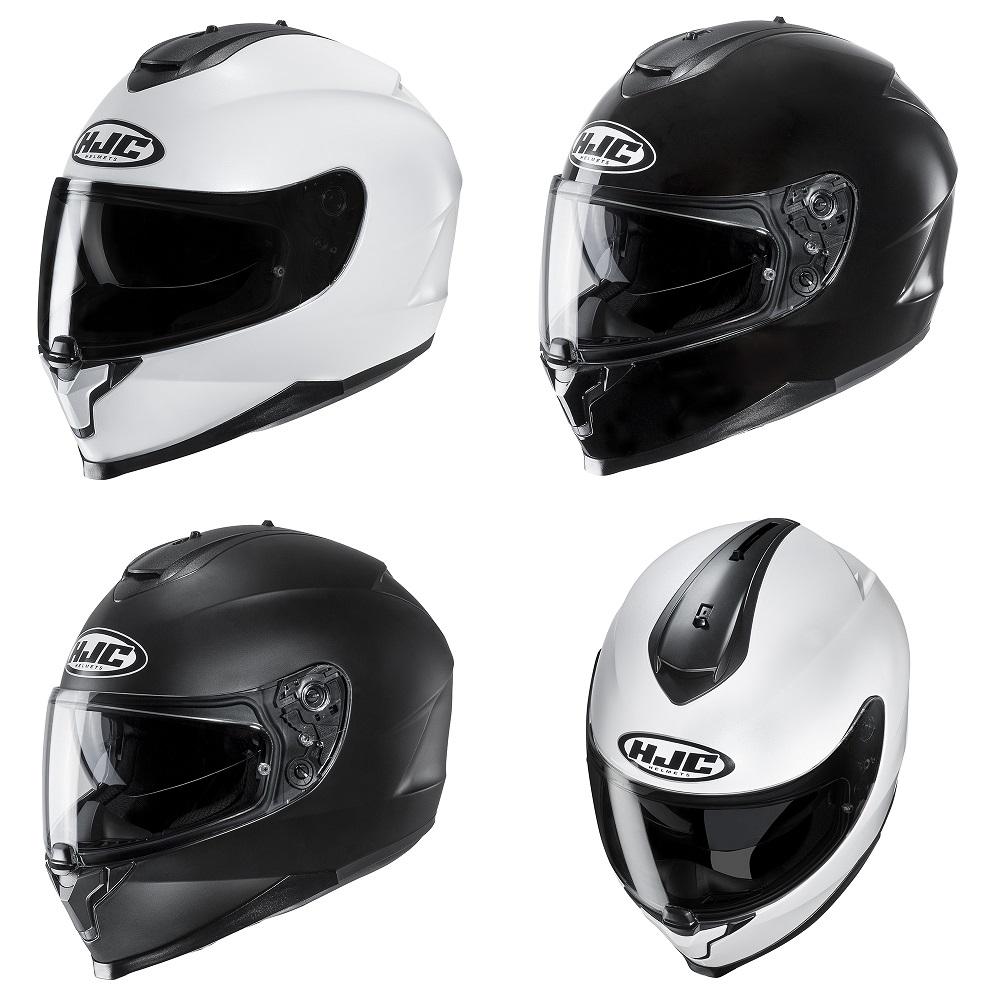 HJC C70 Plain Helmet