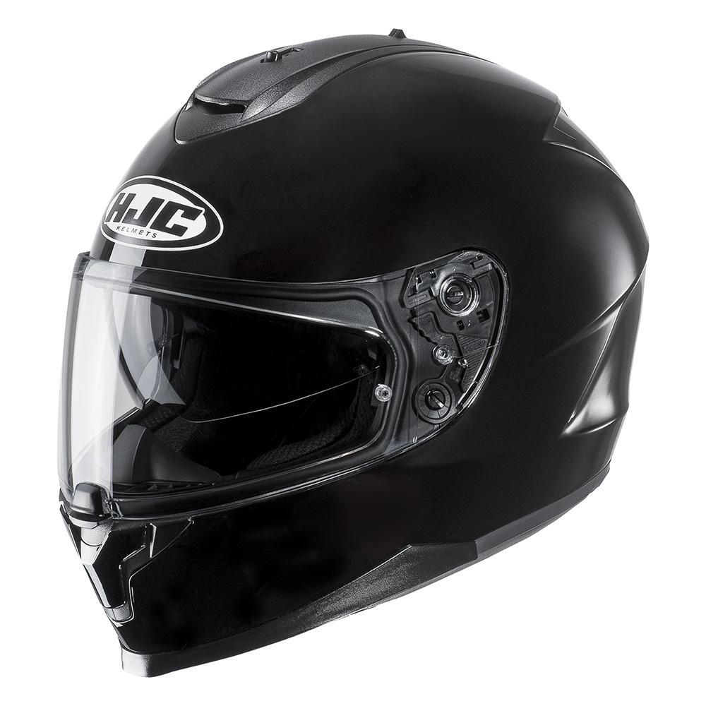 Hjc C70 Plain Helmet Blda Motorbikes