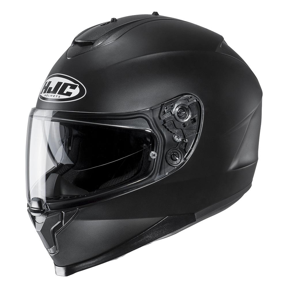hjc c70 plain helmet blda motorbikes. Black Bedroom Furniture Sets. Home Design Ideas