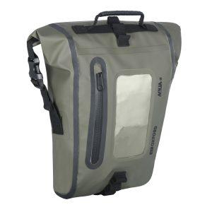 Oxford Aqua M8 Khaki Magnetic Tank Bag