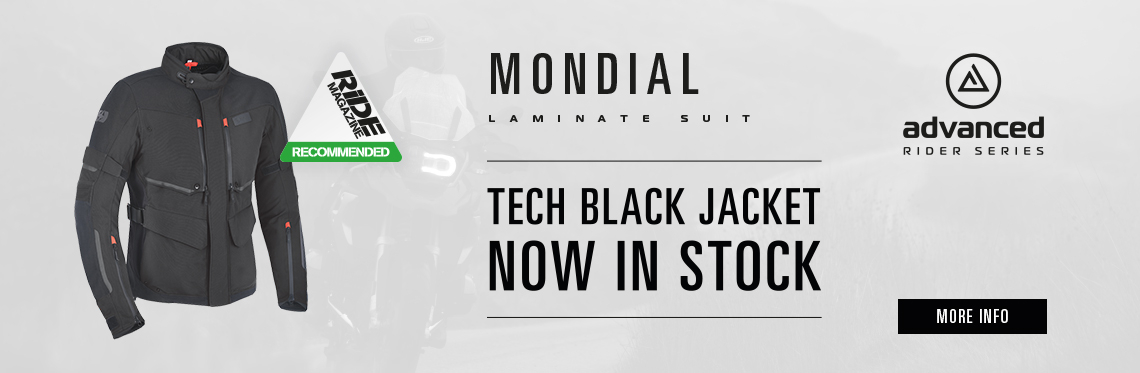 Oxford Mondial Motorcycle Jacket Web Banner