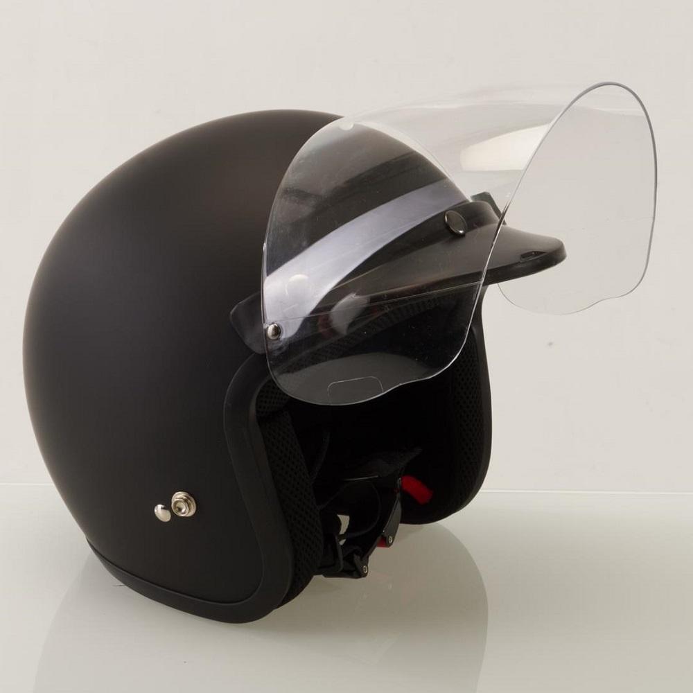Viper Visor 25 04 Open Face Visor Bubble Clear