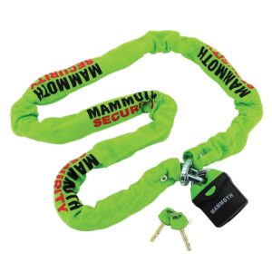 Mammoth 10mm Motorcycle Chain & Lock LOCM009