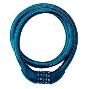 Mammoth Combination Cable Lock Blue LOCCOM65