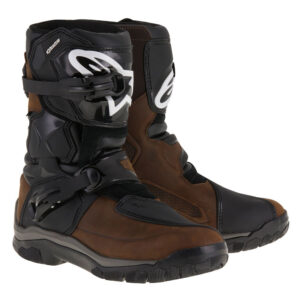 Alpinestars Belize Drystar Oiled Brown Motorcycle Boots