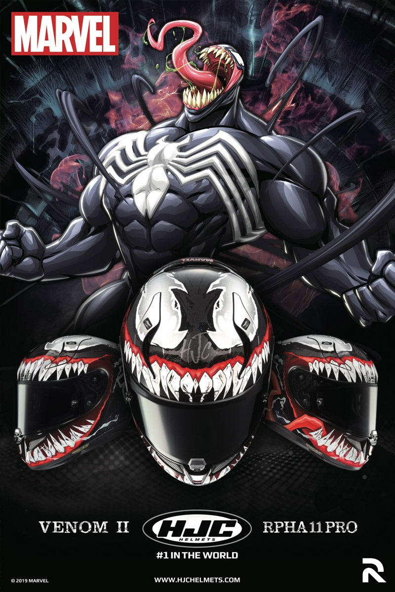 HJC RPHA 11 Venom 2 Motorcycle Helmet Web Banner