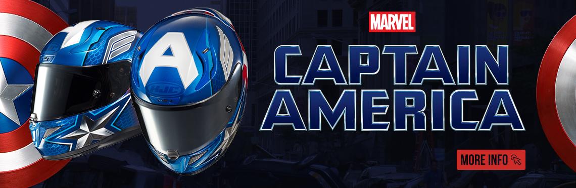 HJC RPHA 11 Captain American Helmet WEb Banner
