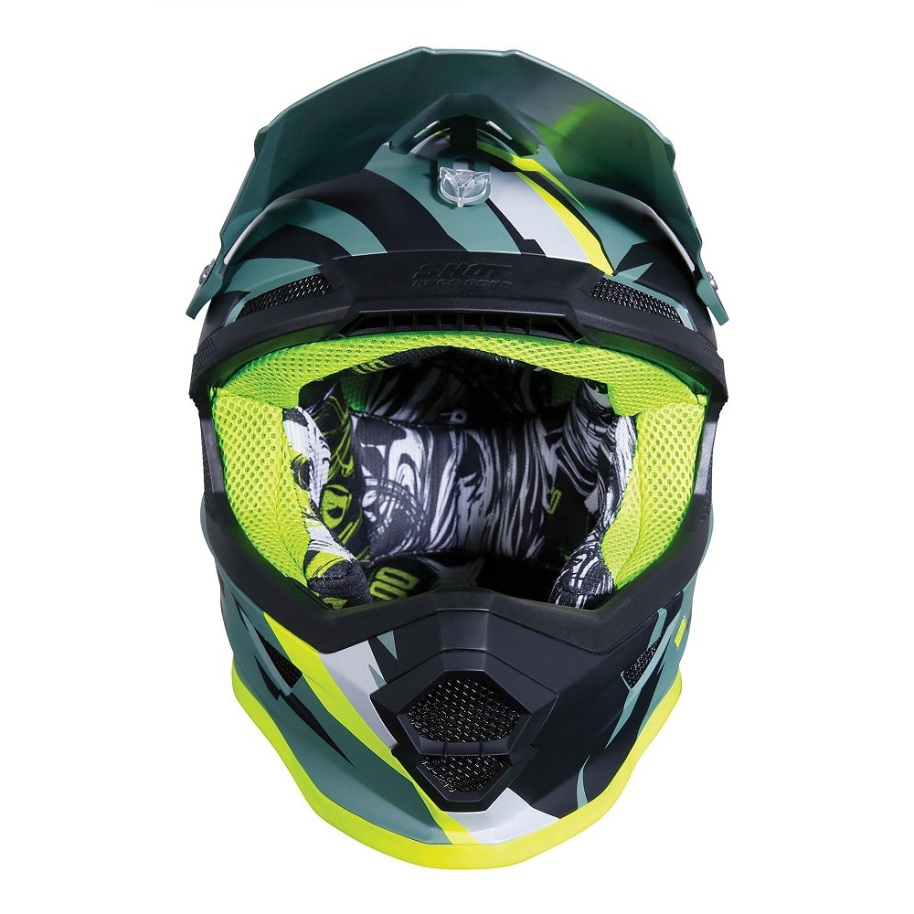 SHOT Casco Cross Furious Score Kid Rosa