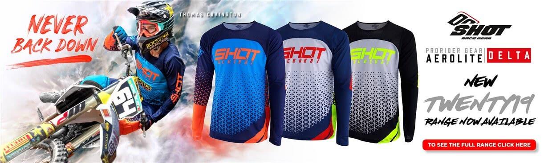 Shot Aerolite Motocross Gear Web Banner