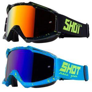 Shot Iris Scratch Goggles