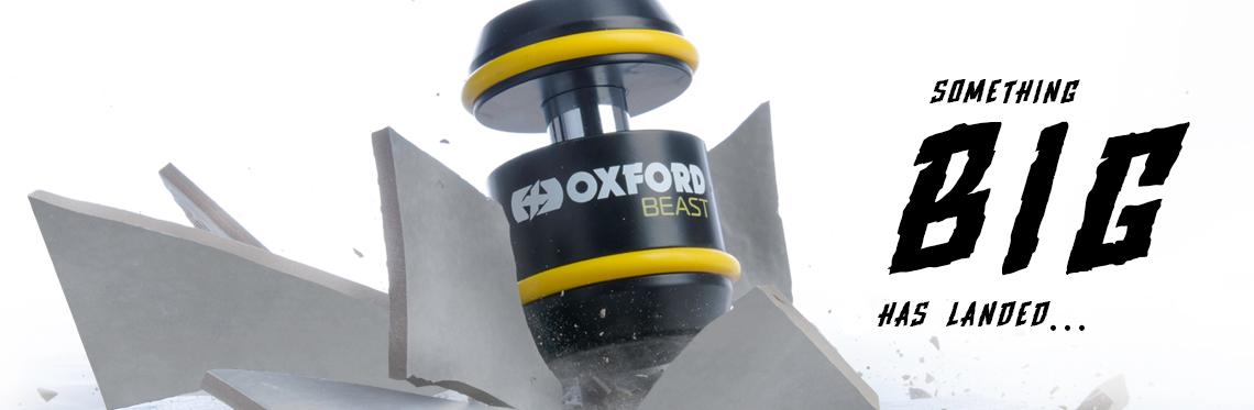 Oxford Beast Motorcycle Disc Lock Web Banner