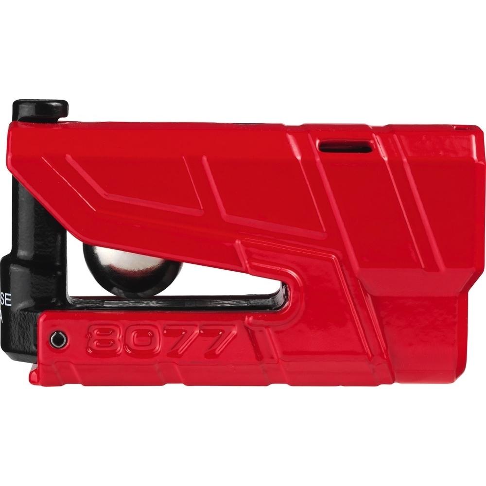 ABUS GRANIT Detecto XPlus 8077 Red Disc Lock Alarm