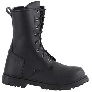 Diora Commando Motorcycle Boots Black 1