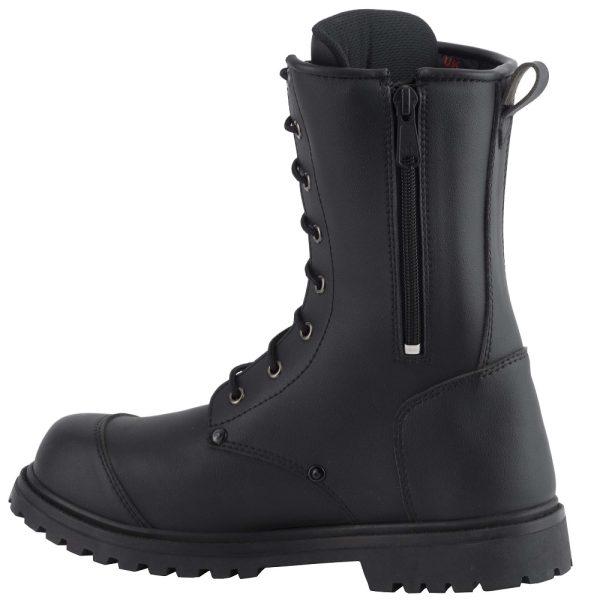 Diora Commando Motorcycle Boots Black 2