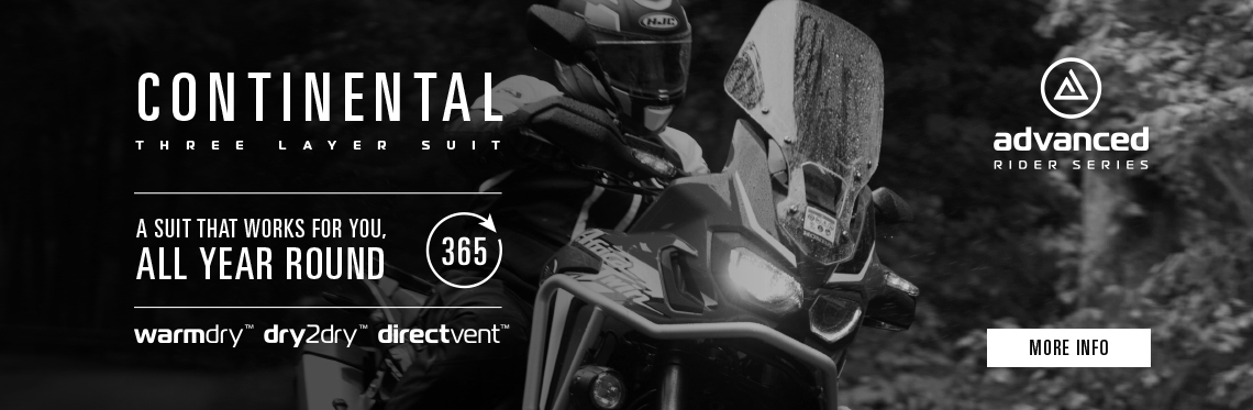 Oxford Continental Motorcycle Jacket Web Banner