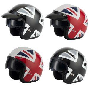 Vcan V537 Union Jack Helmet