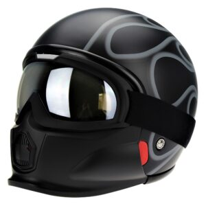 Viper RS-07 Trooper Flame Helmet