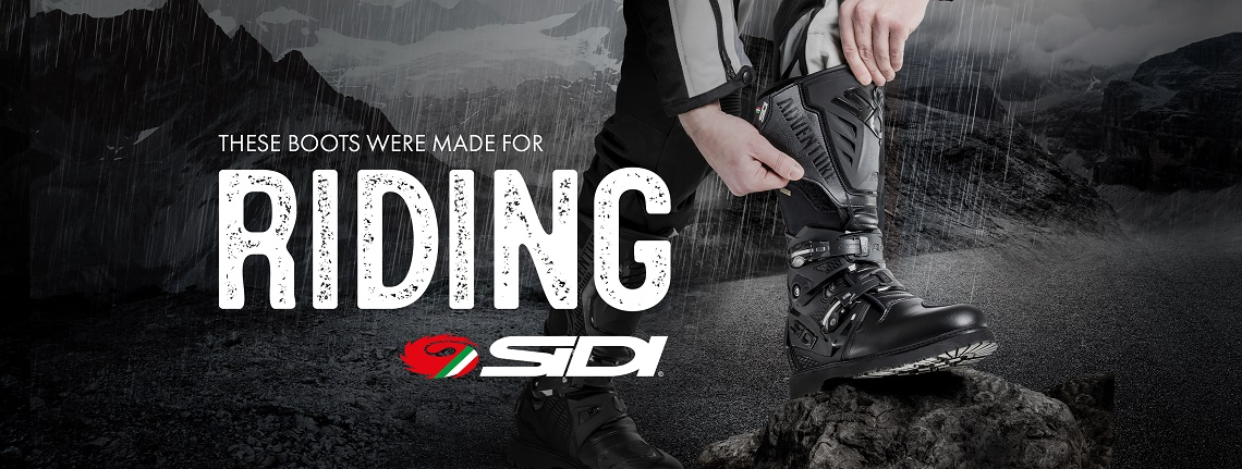 Sidi Adventure 2 Gore CE Motorcycle Boots Web Banner