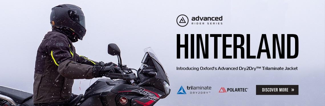 Oxford Hinterland Motorcycle Jacket Web Banner