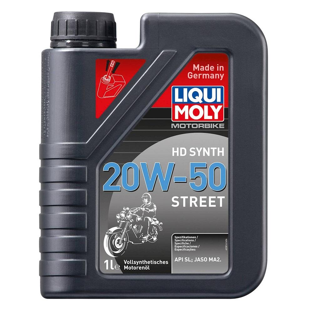 Liqui Moly 4 Stroke Street 20W-50 Fully Synthetic Oil