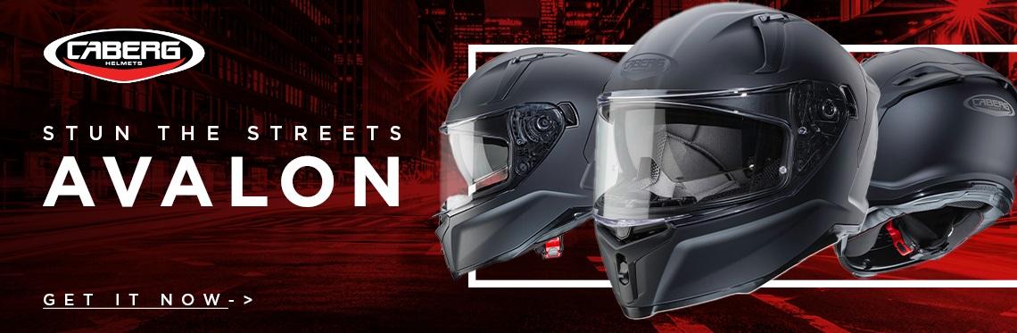 Caberg Avalon Motorcycle Helmet Web Banner
