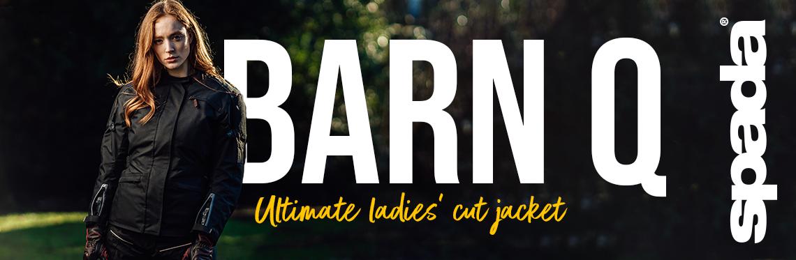 Spada Barn Q Ladies Motorcycle Jacket Web Banner