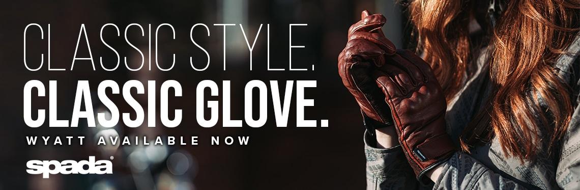 Spada Wyatt Ladies Motorcycle Gloves Web Banner