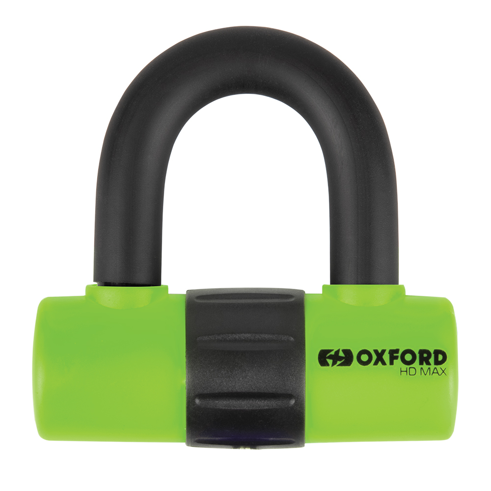 Oxford HD Max Green Disc Lock