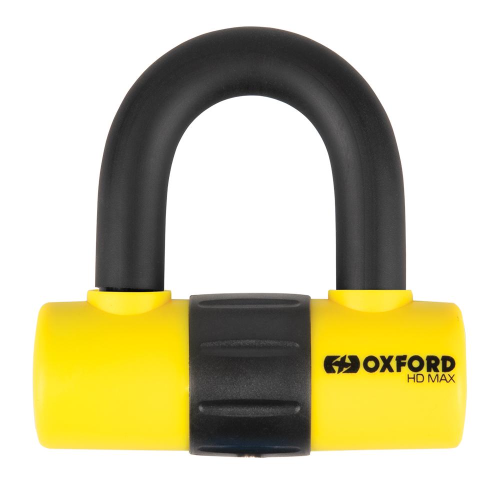 Oxford HD Max Yellow Disc Lock